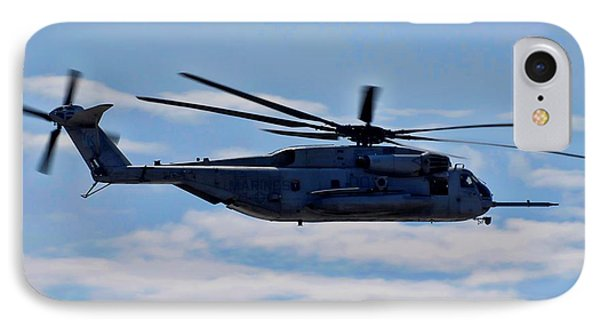 Ch-53d Sea Stallion - 2 Phone Case by Tommy Anderson