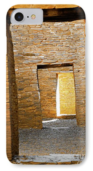 Chaco Canyon Doorways IPhone Case