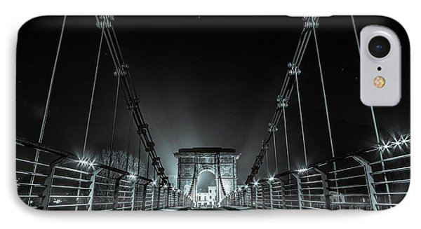 Chain Bridge IPhone Case