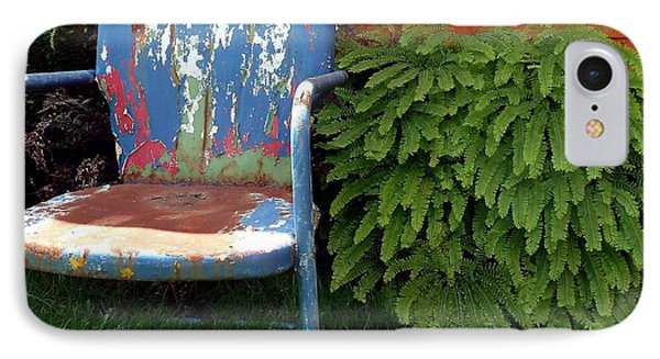 Chair Of Many Colors IPhone Case by Patricia Strand