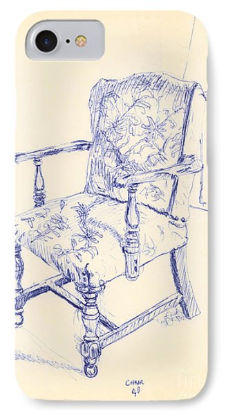 Chair Phone Case by Ron Bissett