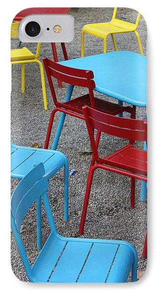 Chairs In Bryant Park Phone Case by Lauri Novak