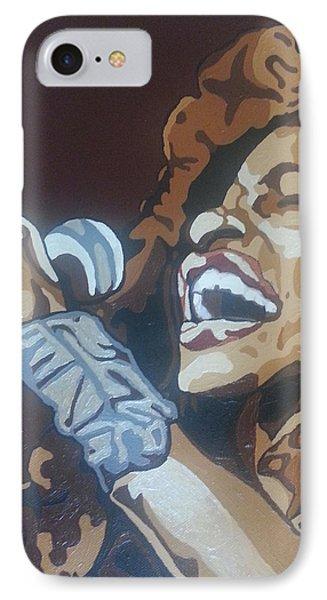 Chaka Khan Phone Case by Rachel Natalie Rawlins