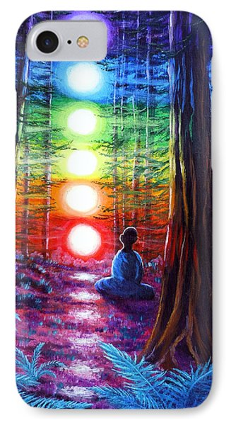Chakra Meditation In The Redwoods IPhone 7 Case