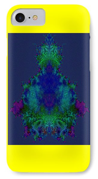 Chakras Fractal IPhone Case by Fractal Art