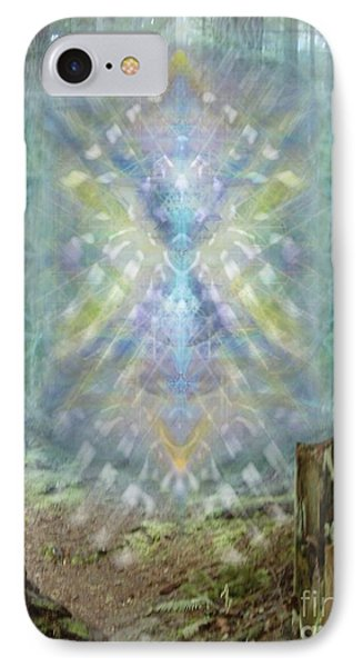 Chalice-tree Spirt In The Forest V2 Phone Case by Christopher Pringer
