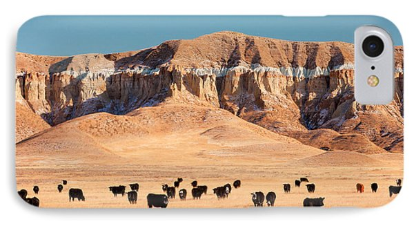 Chalk Cliffs IPhone Case by Todd Klassy
