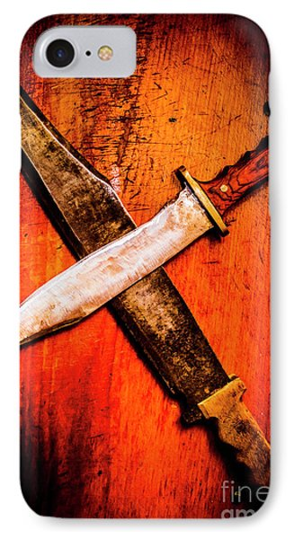 Challenging A Duel IPhone Case by Jorgo Photography - Wall Art Gallery