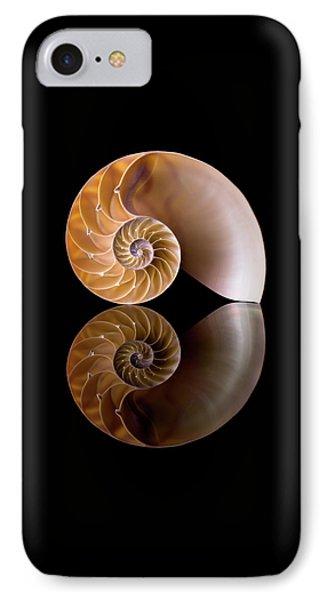 Chambered Nautilus Phone Case by Jim Hughes