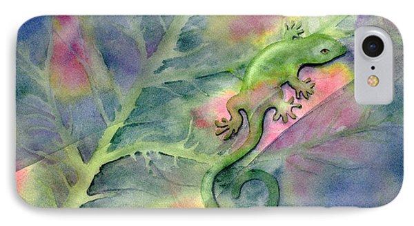 Salamanders iPhone 7 Case - Chameleon by Amy Kirkpatrick