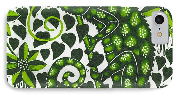 Chameleon IPhone Case by Nat Morley