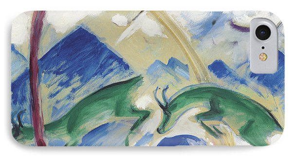 Chamois IPhone 7 Case by Franz Marc