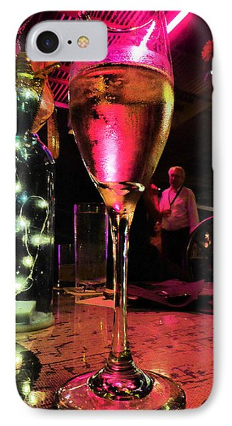 IPhone Case featuring the photograph Champagne And Jazz by Lori Seaman