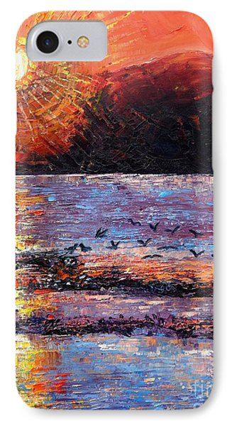 Champagne Sunset.  IPhone Case by Caroline Street