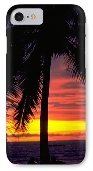 Champagne Sunset IPhone Case by Travel Pics