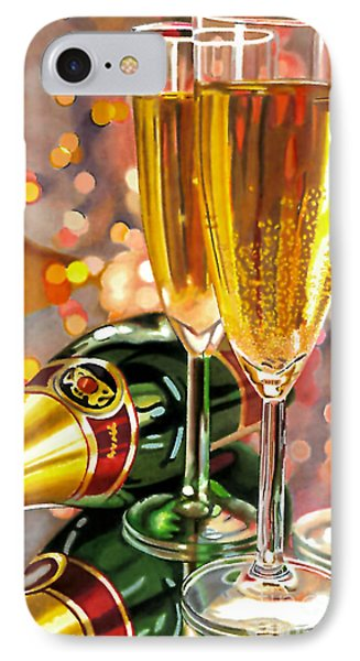 Champagne Wishes IPhone Case