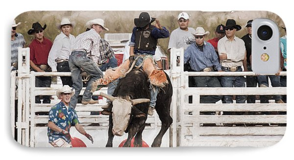IPhone Case featuring the photograph Champion Bull Rider by Marianne Jensen