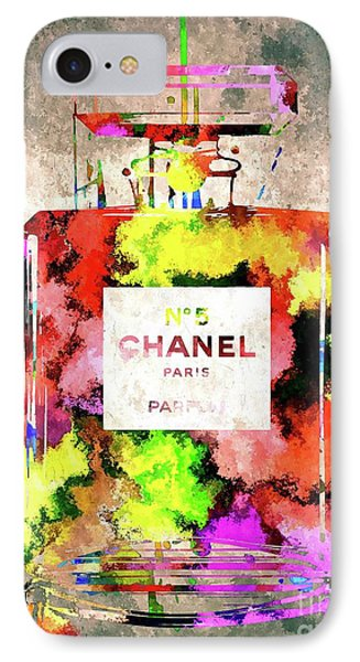 Chanel No 5 IPhone Case by Daniel Janda