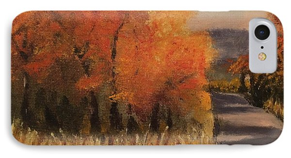 Changing Season IPhone Case by Sharon Schultz