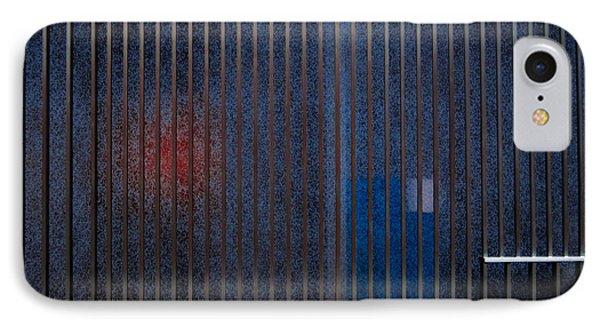 Channelling Mondrian IPhone Case by James Aiken