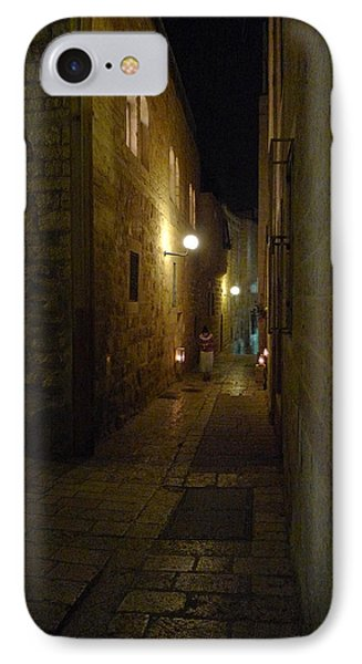 IPhone Case featuring the photograph Chanukah At The Old City Of Jerusalem by Dubi Roman