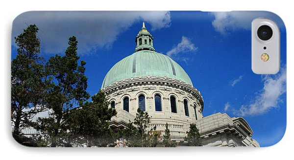 Chapel - Us Naval Academy 3 IPhone Case by Lou Ford
