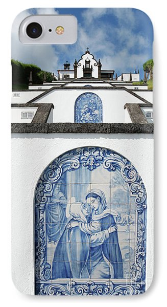 Chapel In The Azores Phone Case by Gaspar Avila