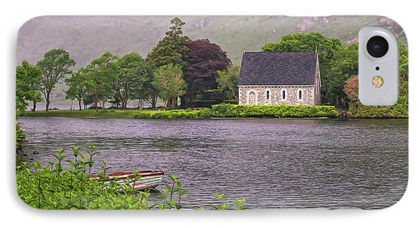 Chapel In The Mist - Gougane Barra - County Cork - Ireland IPhone Case