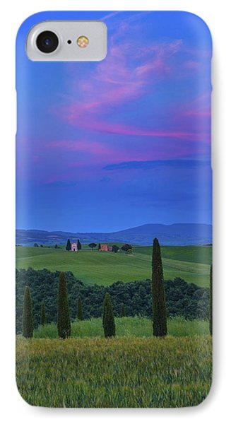 Chapel Of Our Lady Of Vitaleta IPhone Case by Christian Heeb