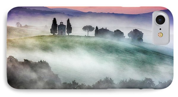 Chapel Of Our Lady Of Vitaleta Phone Case by Evgeni Dinev