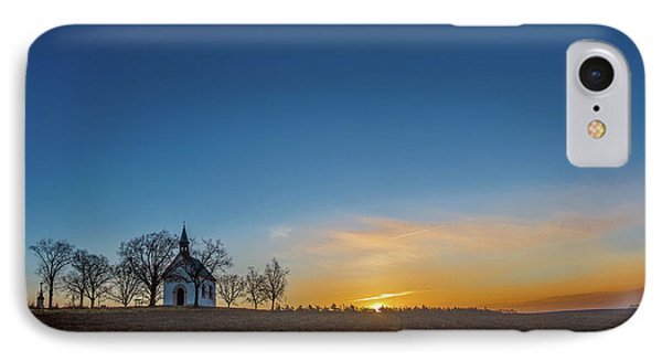 Chapel Of The Virgin Mary Of The Help In Brno Lisen Southern Moravia IPhone Case