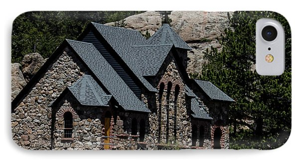 Chapel On The Rock In Allenspark Colorado IPhone Case by David Oppenheimer