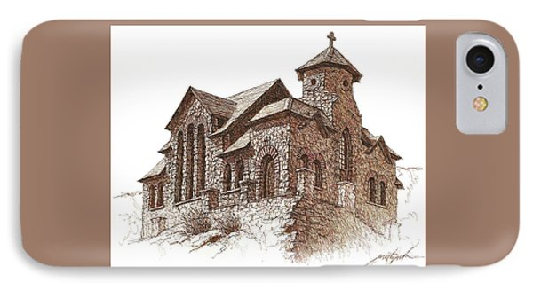 Chapel On The Rock IPhone Case by Larry Prestwich