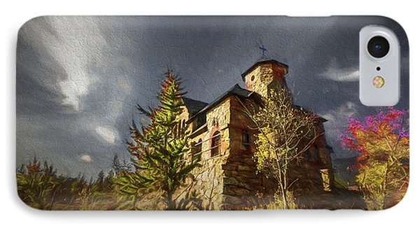 Chapel On The Rock IPhone Case by Vicki Stansbury