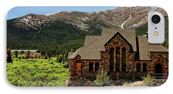 Chapel On The Rocks 2 - Colorado IPhone Case by Judy Vincent