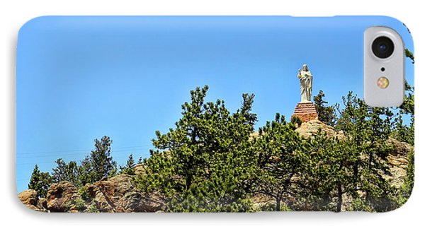 Chapel On The Rocks - Colorado IPhone Case by Judy Vincent