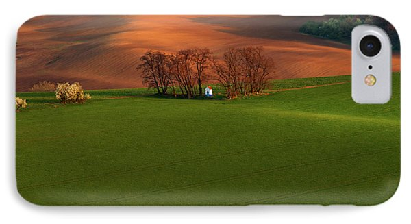 IPhone Case featuring the photograph Chapel St Barbara. Moravia by Jenny Rainbow