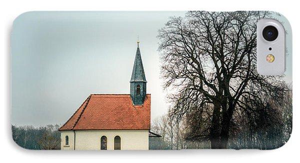 Chapel Under The Tree IPhone Case by Daniel Precht