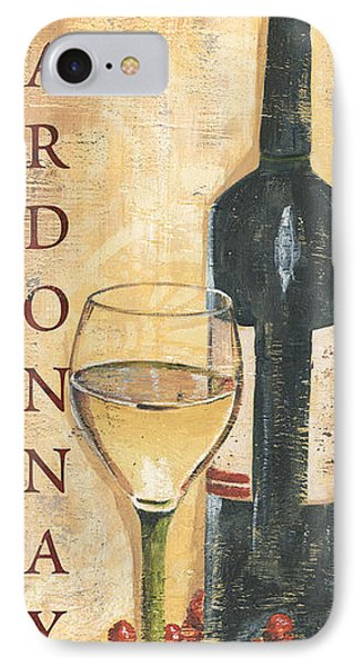 Chardonnay Wine And Grapes IPhone 7 Case by Debbie DeWitt