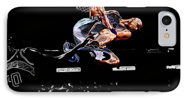 Charles Barkley Hanging Around II IPhone Case by Brian Reaves