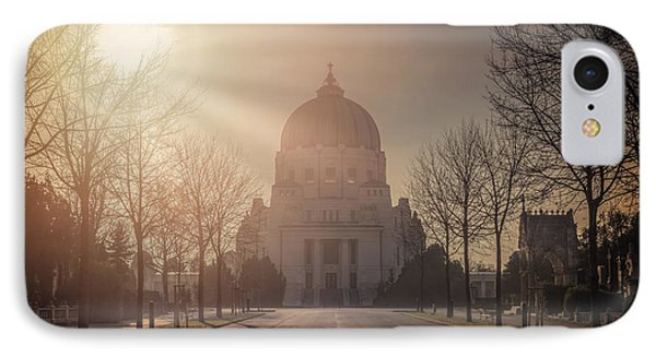 Charles Borromeo Church Zentralfriedhof Vienna IPhone Case