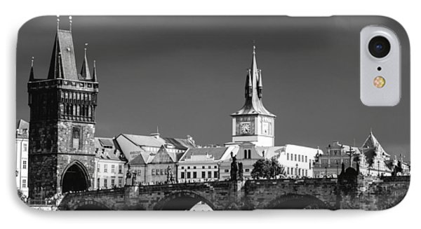 Charles Bridge Prague Czech Republic Phone Case by Matthias Hauser