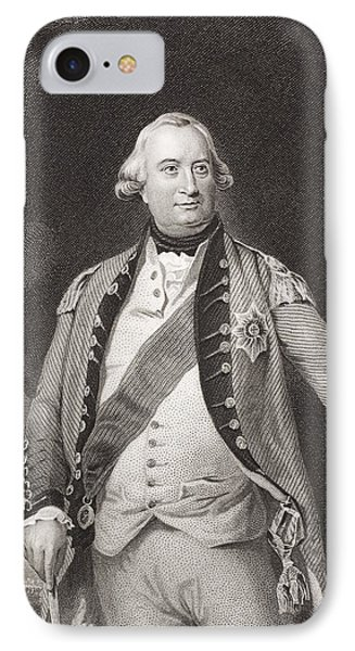 Charles Cornwallis 1738 - 1805. 1st IPhone Case