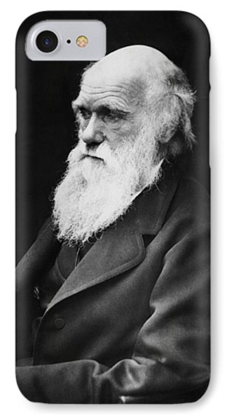 Charles Darwin IPhone Case by War Is Hell Store