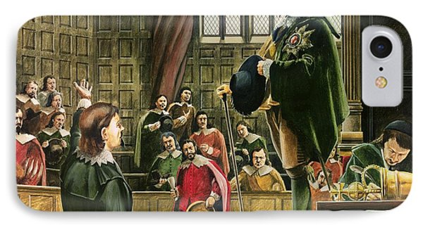 Charles I In The House Of Commons IPhone Case by English School
