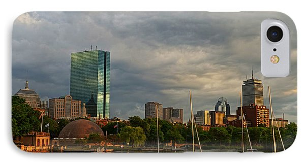 Charles River Boats Esplanade IPhone Case by Toby McGuire