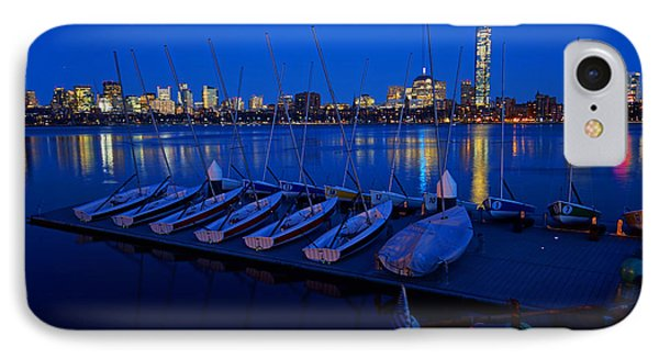 Charles River Boats IPhone Case by Toby McGuire