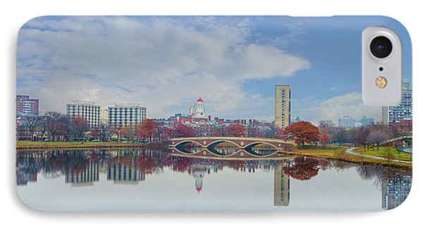 Charles River - Boston Massachusetts IPhone Case by Bill Cannon