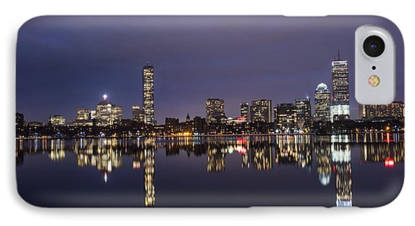 Charles River Clear Water Reflection IPhone Case by Toby McGuire