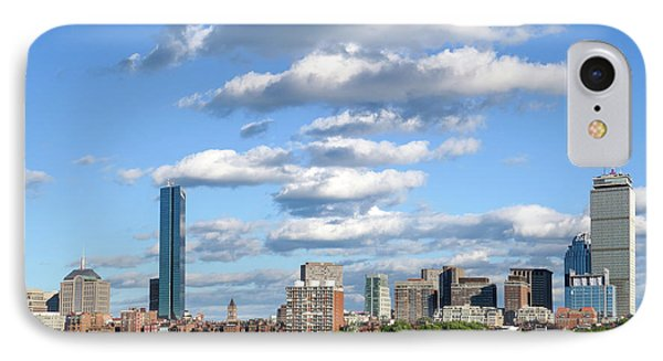 Charles River Cloud Stack Boston Ma IPhone Case by Toby McGuire
